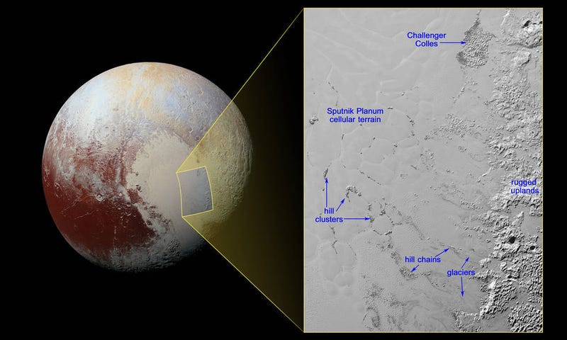 Illustration for article titled The Mystery of Pluto's Moving Hills Has Finally Been Solved