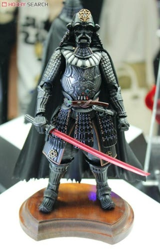 Illustration for article titled Samurai Darth Vader Leads A Slew Of Crazy Japanese Star Wars Toys