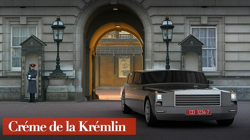 Illustration for article titled Russia's New Presidential Limo Is A Retro-Futuristic Despot's Dream