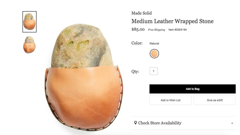 Illustration for article titled Welcome to Nordstrom, Can I Interest You in This Fancy Rock?