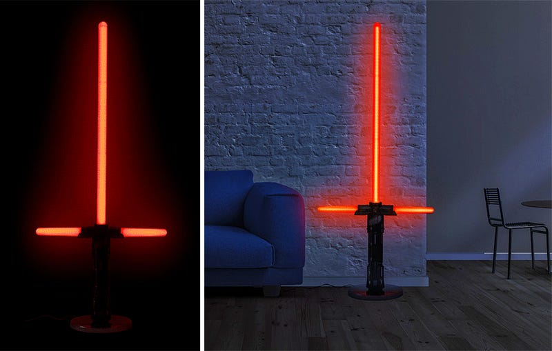 Gigantic Lightsaber Lamps Can Light Up an Entire Cantina