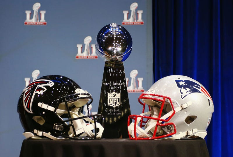 The Atlanta Falcons face the New England Patriots in Super Bowl LI. (Tim Bradbury/Getty Images)