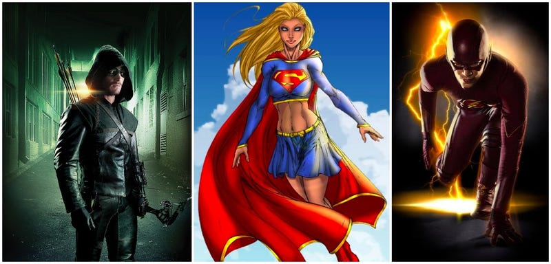 Illustration for article titled The New Supergirl Series Could Cross Over With Flash And Arrow