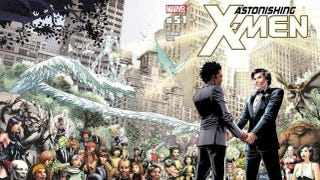 Illustration for article titled In this week's comics, there's a very special X-Men wedding issue