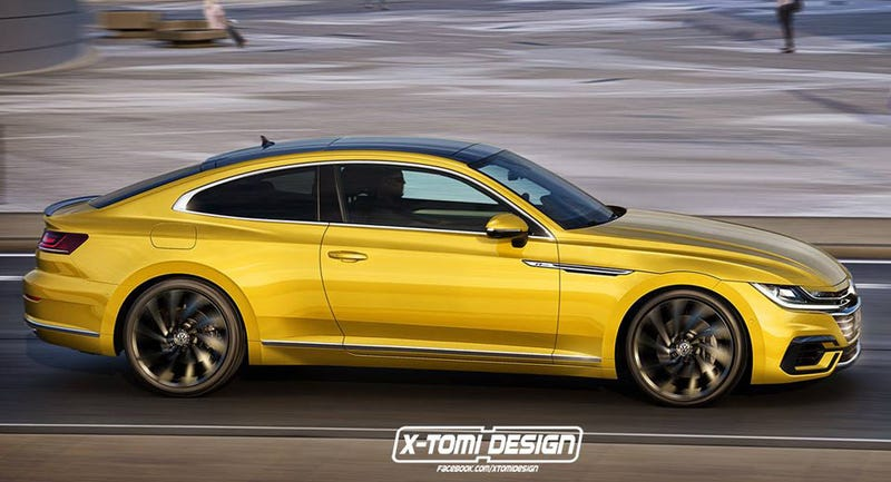 Illustration for article titled Arteon Coupe, Now That's A Good Name