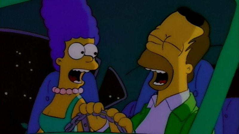 """Illustration for article titled The Simpsons (Classic): """"I Married Marge"""""""