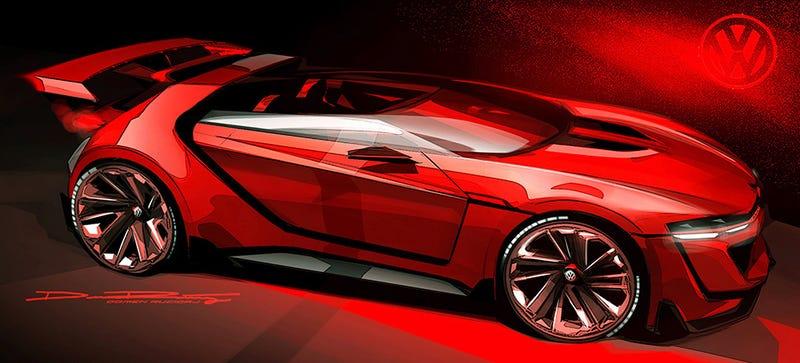 Illustration for article titled The VW GTI Roadster Is A 503 Horsepower VR6 Monster