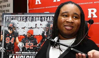 Illustration for article titled Eric LeGrand Is Learning To Walk And Getting The Cover Of Sports Illustrated