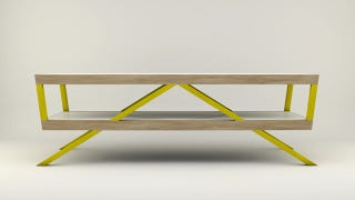 Illustration for article titled This Coffee Table Looks Better and Assembles Easier Than Your Ikea Furniture