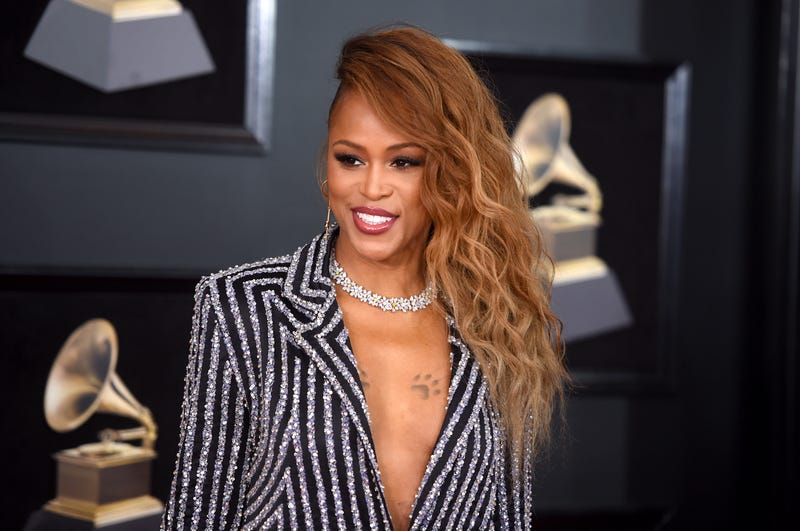 Eve attends the 60th annual Grammy Awards at Madison Square Garden in New York City on Jan. 28, 2018. (Jamie McCarthy/Getty Images)