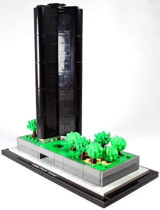 Illustration for article titled This Lego Lake Point Tower needs to be an architecture set
