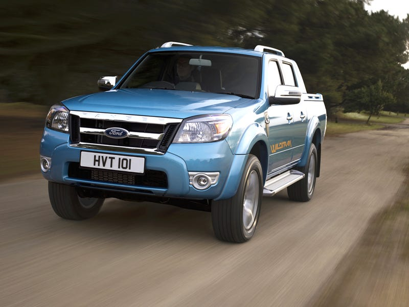 We Ve Shown You America S 2010 Ford Ranger A Truck With Face So Old It Comes Mustache Waxer Now Get To See Euro Spec