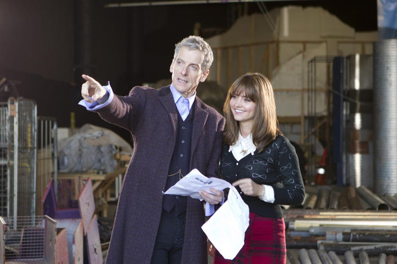 Illustration for article titled Doctor Who Season 8 filming begins... spoilers ensue.