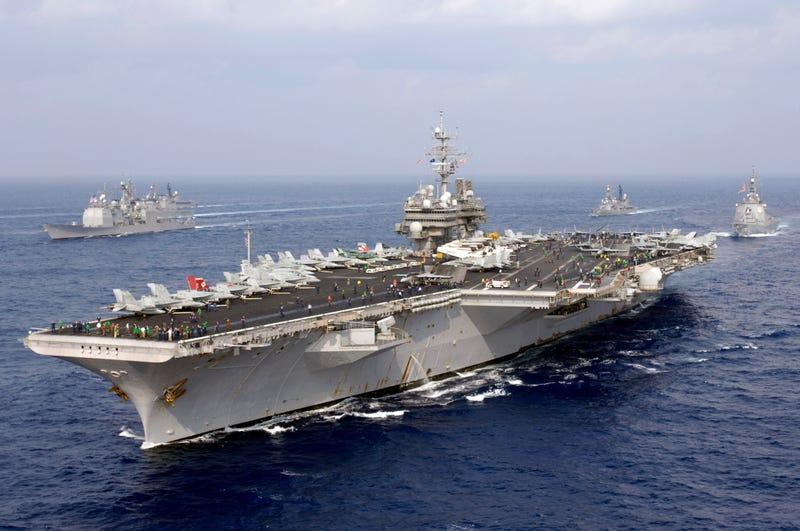 USS Kitty Hawk (CV-63). Wikimedia Commons