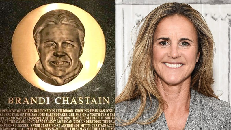 Illustration for article titled Making Things Right: Brandi Chastain Is Undergoing Major Cosmetic Surgery To Look Exactly Like Her Hall Of Fame Bust