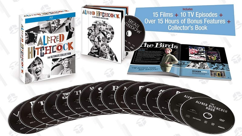 Alfred Hitchcock: The Ultimate Collection | $60 | Amazon