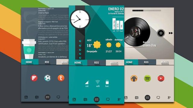 Good Beautiful Home Screen Design Images   Amazing Design Ideas   Luxsee.us