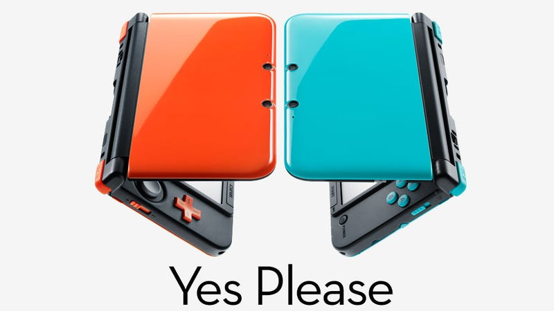 Illustration for article titled Nintendo Has Limited Edition 3DS XLs. They're Pretty Hot.