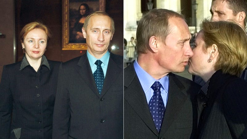 Illustration for article titled Aww: Vladimir Putin is Getting Divorced