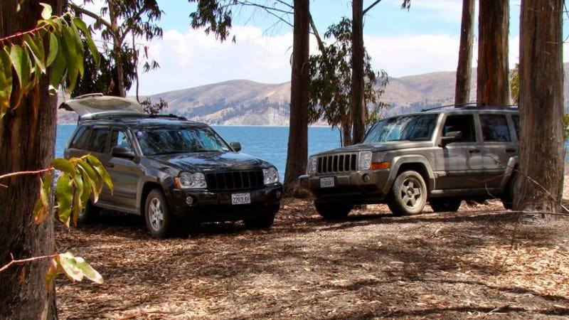2008 jeep commander repair manual