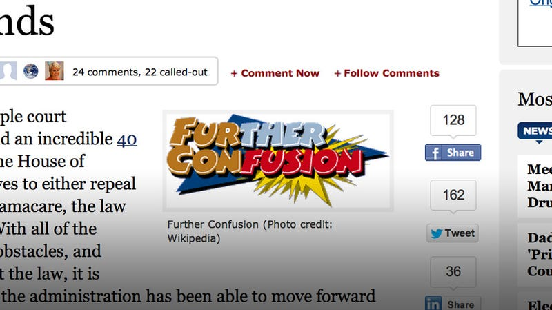 Illustration for article titled Forbes Uses Furry Convention Logo in Obamacare Article For Some Reason