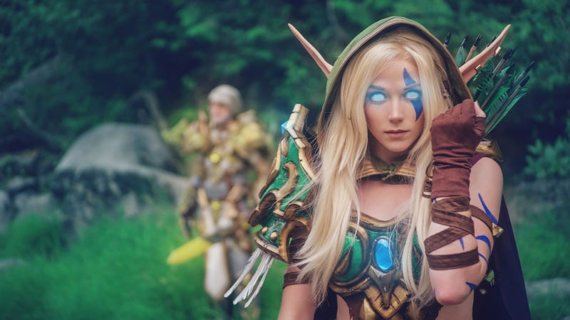 Illustration for article titled Here's What Professional World of Warcraft Cosplay Looks Like