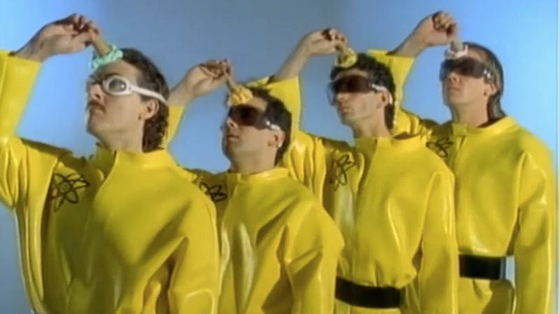 "Illustration for article titled ""Weird Al"" Yankovic's Devo parody is more Devo than the real thing"