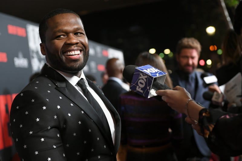 50 Cent at the premiere of STX Films' Den of Thieves at Regal LA Live Stadium 14 on Jan. 17, 2018, in Los Angeles (Kevin Winter/Getty Images)