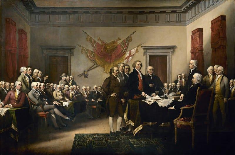 Illustration for article titled Por qué el 4 de julio es el Día de la Independencia de Estados Unidos si nadie firmó nada ese día