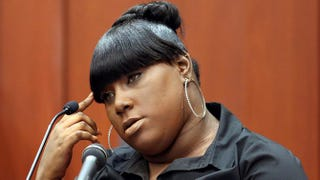 Rachel Jeantel answers questions from the defense during George Zimmerman's trial in the killing of Trayvon Martin in Sanford, Fla., June 26, 2013.Jacob Langston-Pool/Getty Images