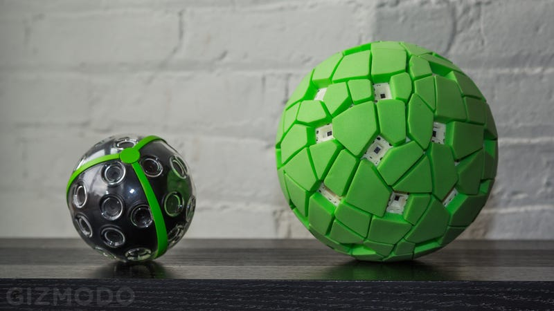Illustration for article titled The Throwable, Panoramic Ball Cam Is Finally Here—and It's Incredible