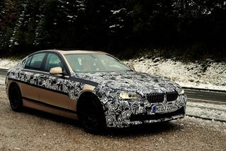 Illustration for article titled 2010 BMW 5-Series Gets A Swirly