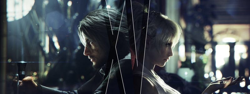 A new banner used to promote the upcoming Final Fantasy XV Royal and Windows Editions