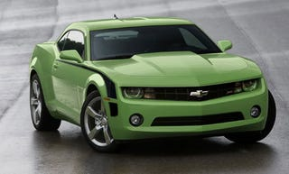 Illustration for article titled 2011 Chevy Camaro Gets $350 Price Bump On 2LT, 2SS Models