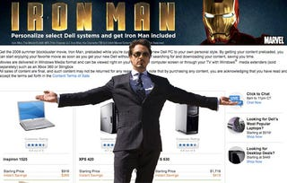 Illustration for article titled Dell Preloading Select Computers with Iron Man