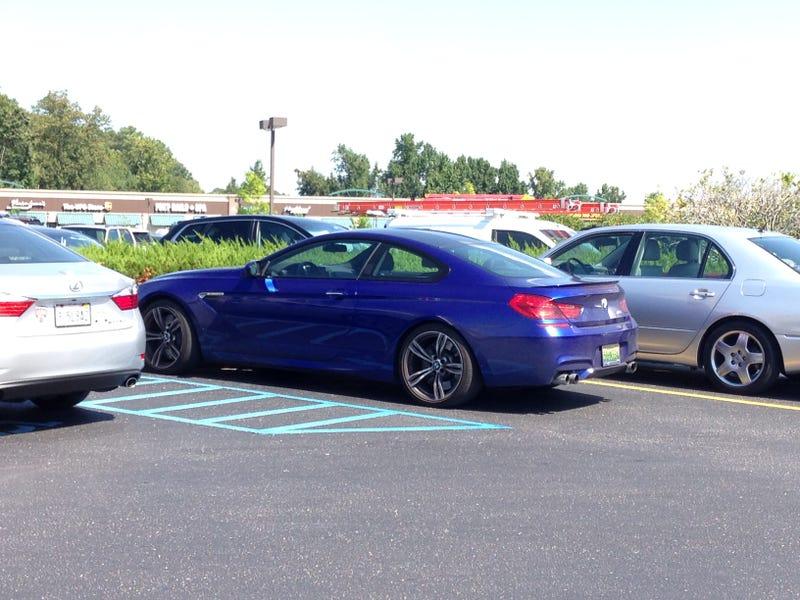 I like a nice blue M6