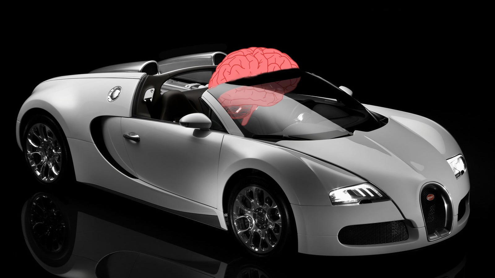 the bugatti veyron travels at almost the speed of thought. Black Bedroom Furniture Sets. Home Design Ideas