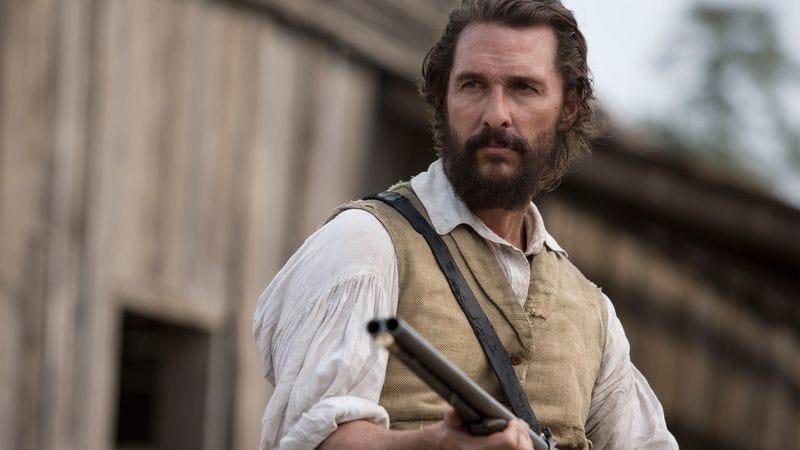 Matthew McConaughey in the upcoming Free State Of Jones