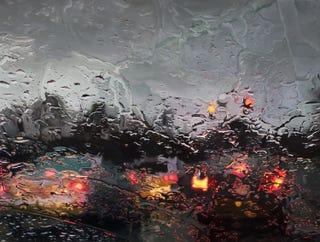 Illustration for article titled Estos asombrosos óleos recrean la lluvia igual que fotografías