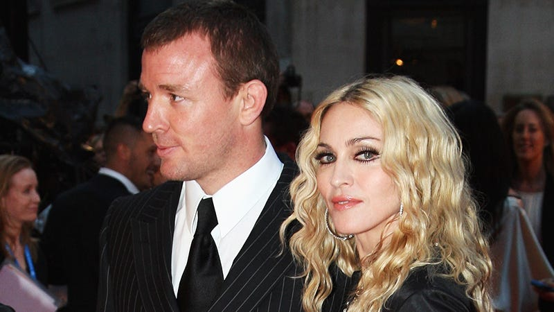 Illustration for article titled Guy Ritchie Reportedly Thinks Madonna's Parenting Style Is Killing Their Son's Confidence