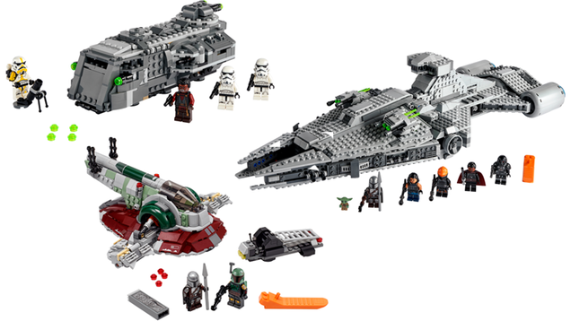 Lego Returns to The Mandalorian With 3 New Vehicle Sets