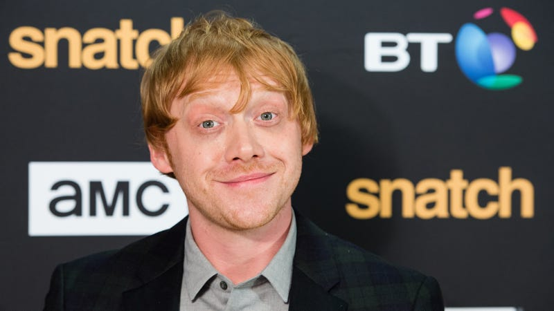 Illustration for article titled Rupert Grint says he peaked early' but he's totally fine with that, really