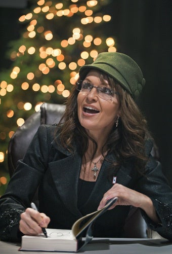 Illustration for article titled McCain Defends Palin's Blacked-Out Visor