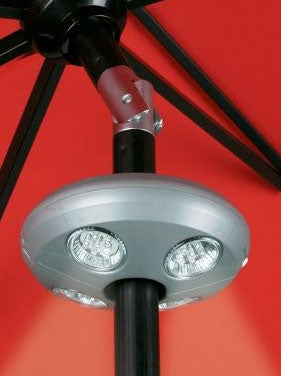 Illustration for article titled Rechargeable LED Umbrella Light