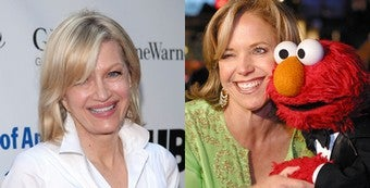 """Illustration for article titled Diane Sawyer Vs. Katie Couric: Handicapping The Coming """"Catfight"""""""