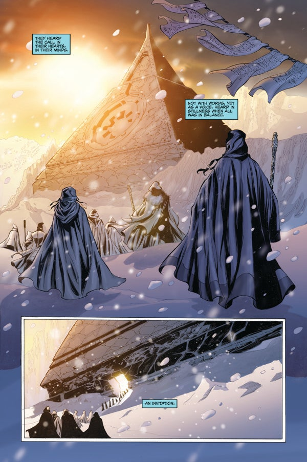 An exclusive sneak peek of Dawn of the Jedi, the mysterious