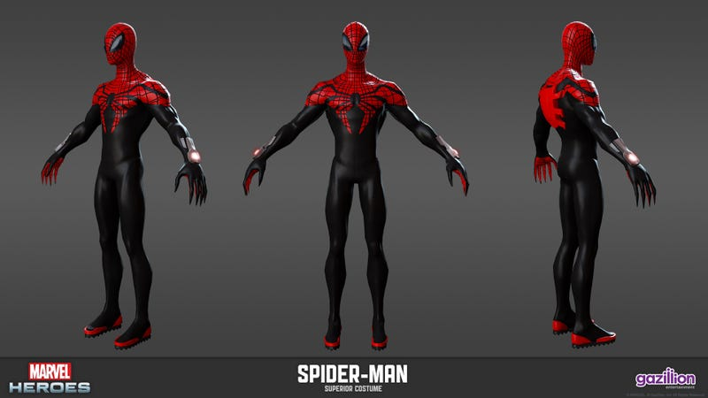 Illustration for article titled Dress Up as the Most Evil Spider-Man This August in Marvel Heroes