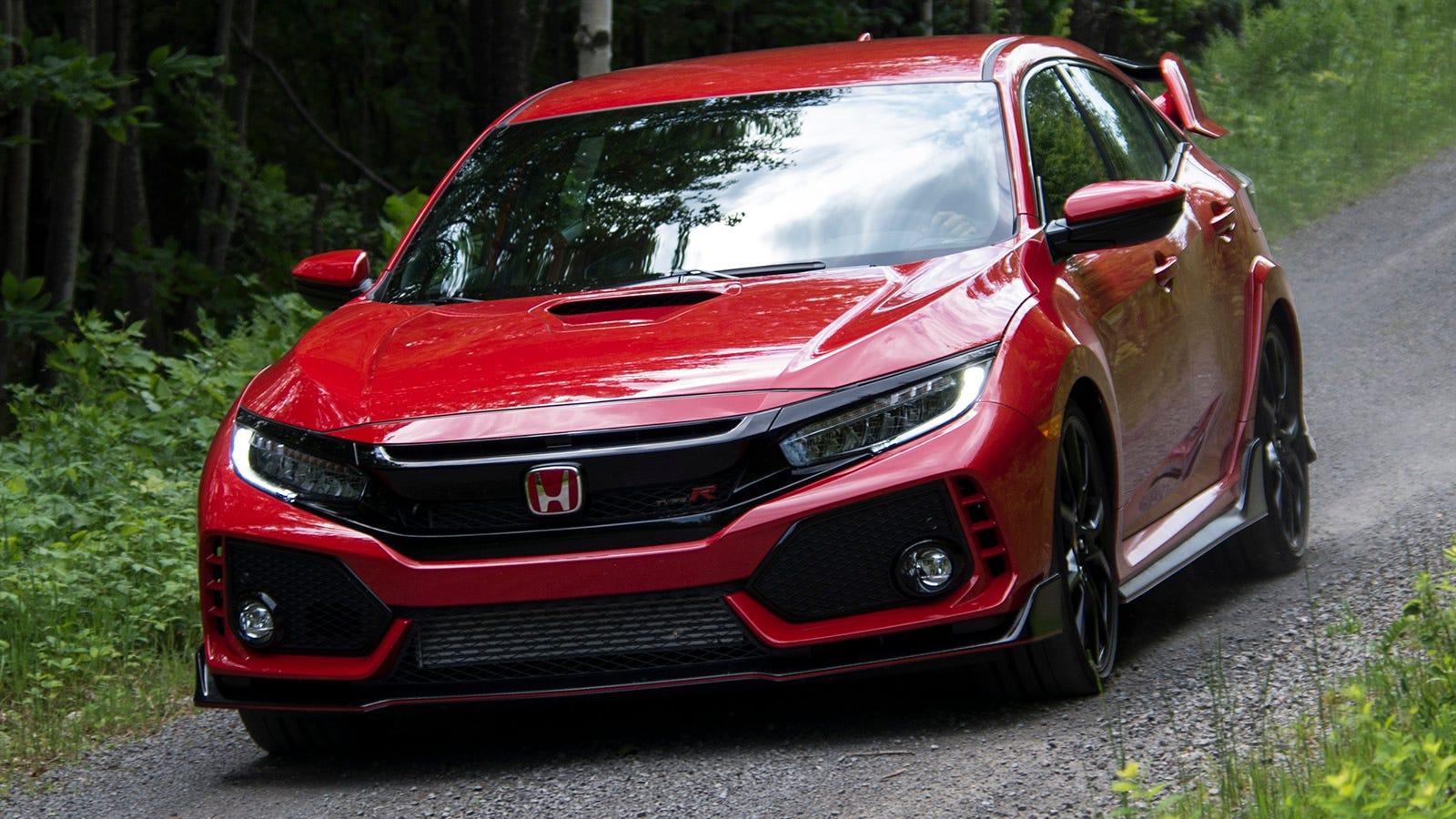 Honda civic 2018 modified red