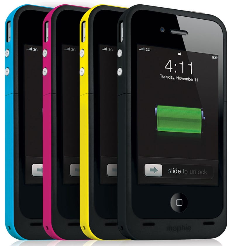 Illustration for article titled Mophie Juice Pack Plus Makes Your iPhone 4 a Marathon Man