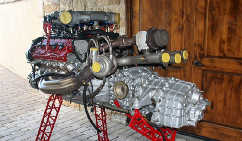What Would You Do With An F40 Engine And Transmission?